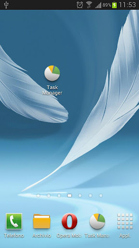Task Manager S3 Note2 Shortcut