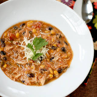 Crockpot Chicken Enchilada Soup.