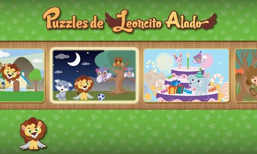 Puzzles de Leoncito Alado FREE