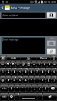 Screenshot of Theme for A.I.type Dusk Black