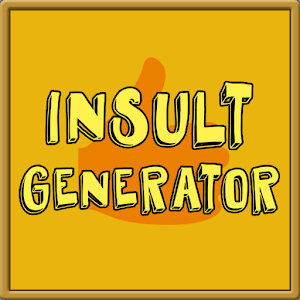 Insult Generator for PC and MAC