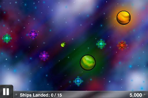 Spaceship Land Planet Game