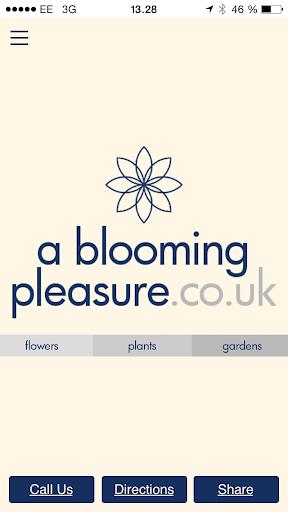 A Blooming Pleasure