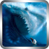 Surf Shark Live Wallpaper