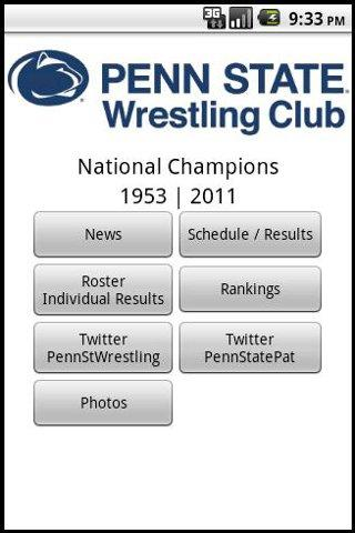 Penn State Wrestling Club- screenshot