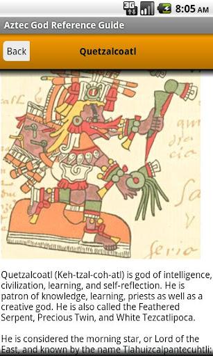Aztec God Pocket Reference