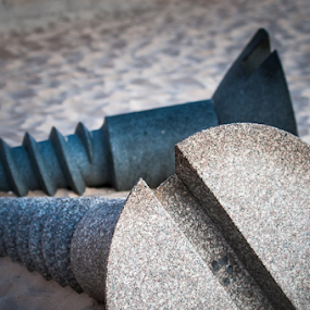 Screws by Photoxor AU - Artistic Objects Other Objects ( sand, screw, stone, artistic object, object,  )