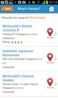 Screenshot of Singapore Guide Hotels Weather
