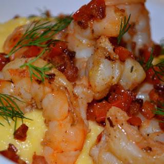 Italian-Style Shrimp and Grits