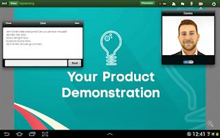 Screenshot of ClickMeeting Online Meetings