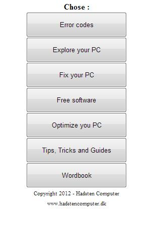 PC Error Fixer Explorer