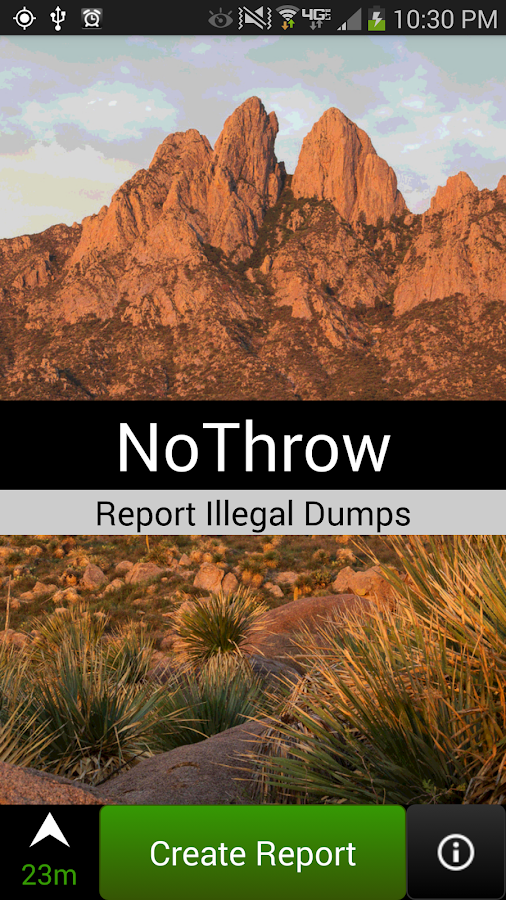 NoThrow- screenshot