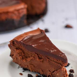 Gluten-Free Death by Chocolate Cheesecake.