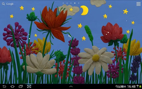 KM Flowers Live wallpaper - screenshot thumbnail