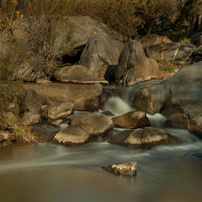 runing water by Emerson Cabaling - Landscapes Waterscapes