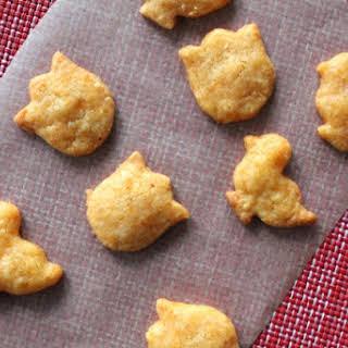 Gluten Free Cheez-It's (Spicy Cheddar Crackers).