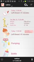 Screenshot of Baby Nursing / Breastfeeding