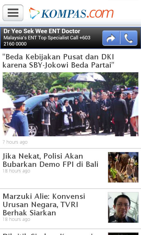 Kompas.com - screenshot