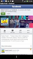 Screenshot of Radio Fresh!