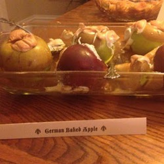 Real German Baked Apples