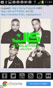 JLS Fanzone - screenshot thumbnail