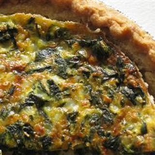 Spinach and Salmon Pie Recipe