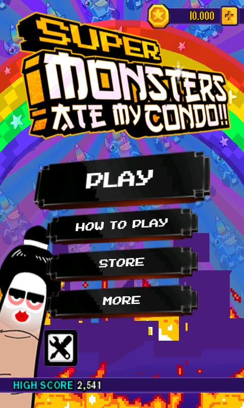 Super Monsters Ate My Condo! - screenshot
