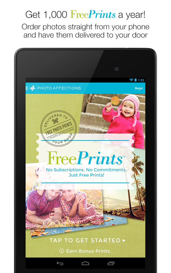 FreePrints- screenshot
