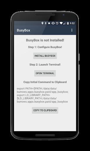 BusyBox Installer (No Root) 3.66.0.41 screenshots 1