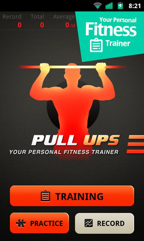 Pull Ups Workout - screenshot