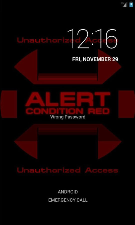 ST: Red Alert Wallpaper - screenshot