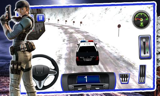 3D 경찰 순찰 차량 시뮬레이터
