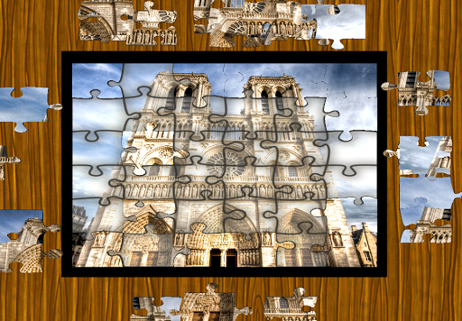 Jigsaws in Paris - Free Puzzle