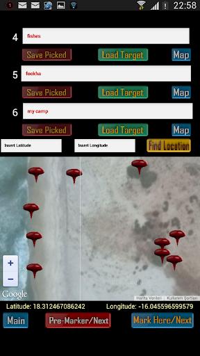 GPS Map Marker Compass