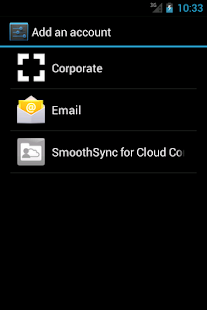 SmoothSync for Cloud Contacts – Miniaturansicht des Screenshots