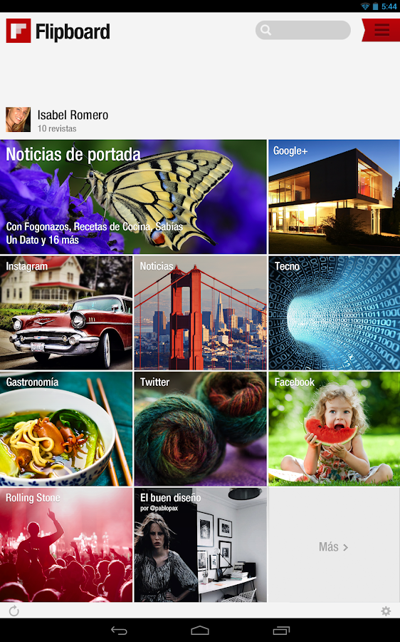 Flipboard - screenshot