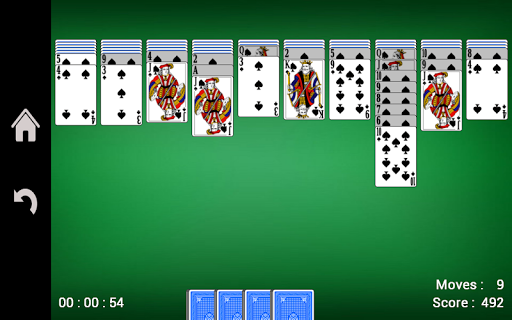 Spider Solitaire  gameplay | by HackJr.Pw 6