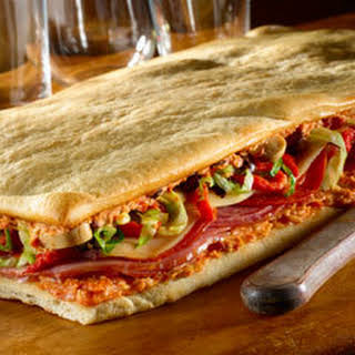 Antipasto Pizza Sandwich.