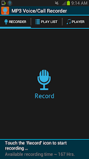 Smart Voice Recorder MP3 - screenshot thumbnail