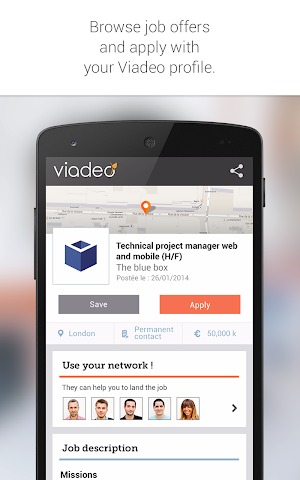android Viadeo Screenshot 15