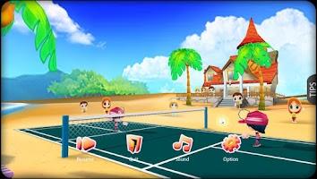 Screenshot of 3D Badminton II
