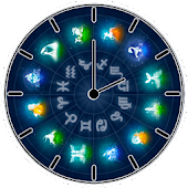 Zodiac Sign Clock Widget