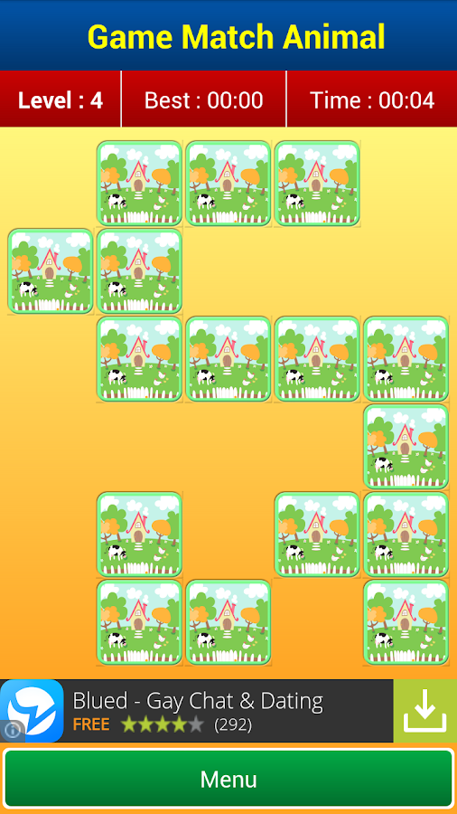 Matching Games : Animal Cards- screenshot