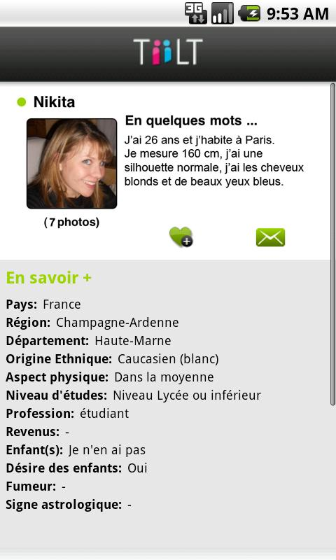 TiiLT Rencontres Célibataires- screenshot