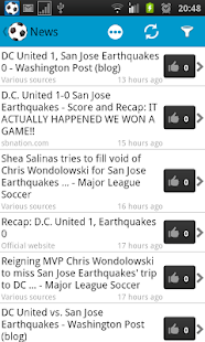 San Jose Earthquakes Fan - screenshot thumbnail