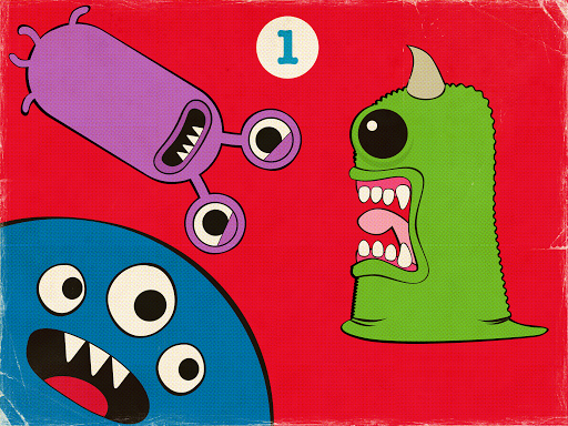 Counting Monsters -Math Game