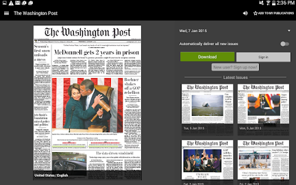 PressReader (preinstalled) Screenshot 9