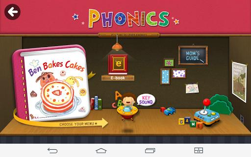 [Phonics] Ben Bakes Cakes Apk Download 1