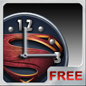 Superman 2013 Clock Widget icon