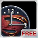 Superman 2013 Clock Widget icon